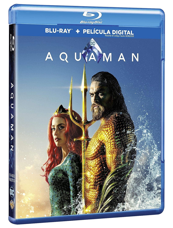 Aquaman Blu-Ray [Blu-ray]: Amazon.es: Jason Momoa, Amber ...