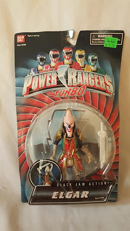 "Power Rangers Turbo 1996 Elgar 5.5"" Action Figure"