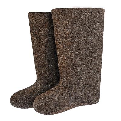 Valenki Russian Traditional Winter Felt Boots 100% Wool   Snow Boots