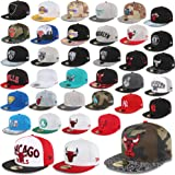 New Era Berretto 59FIFTY SU MISURA Berretto NUOVO York Yankees Chicago Bulls Hornets SUPERMAN NETS NBA MLB UVM