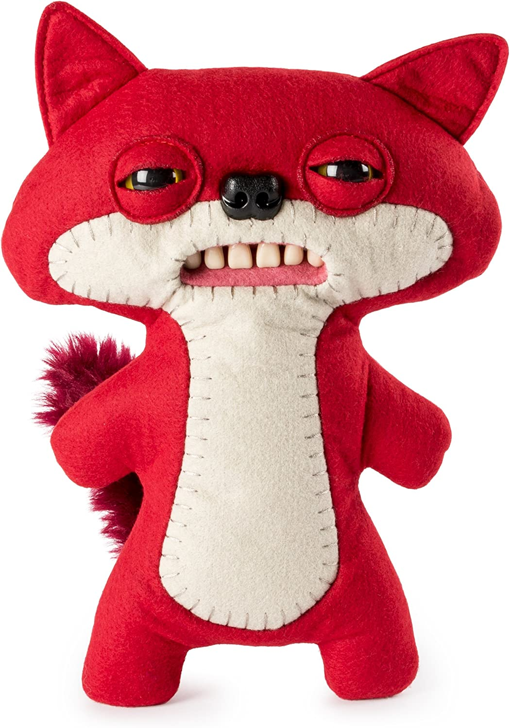 "Amazon.com: Fugglers – Funny Ugly Monster, 9"" Suspicious Fox (Red) Plush  Creature with Teeth, for Ages 4 & Up: Toys & Games"