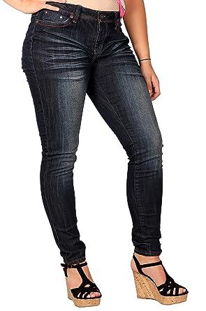 0ee3c1e3b61 Amazon.com  Zana-Di Womens Junior Plus Fashion Jeans