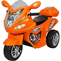 Hlx-Nmc Battery Operated Fun Bike Orange