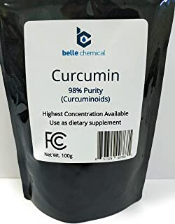 product image for 98% Pure Curcumin Powder (98% Curcuminoids) (100 Grams)