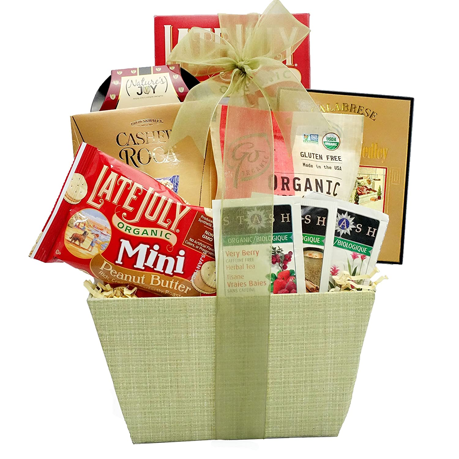 Amazon broadway basketeers organic and natural healthy gift amazon broadway basketeers organic and natural healthy gift basket a healthy gift basket gourmet snacks and hors doeuvres gifts grocery negle Image collections