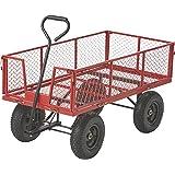 Kotulas Jumbo Steel Garden Wagon — 1400-Lb. Capacity