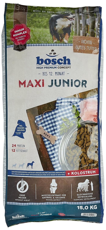 Bosch Maxi Croquette pour Chiot Junior Géante Race 15 kg 4015598012928