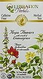 Celebration Herbals Hops Flowers Tea Organic 24 Tea Bag, 24Gm