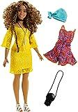 Barbie - Muñeca fashionista vestido glamuroso (Mattel FJF70)