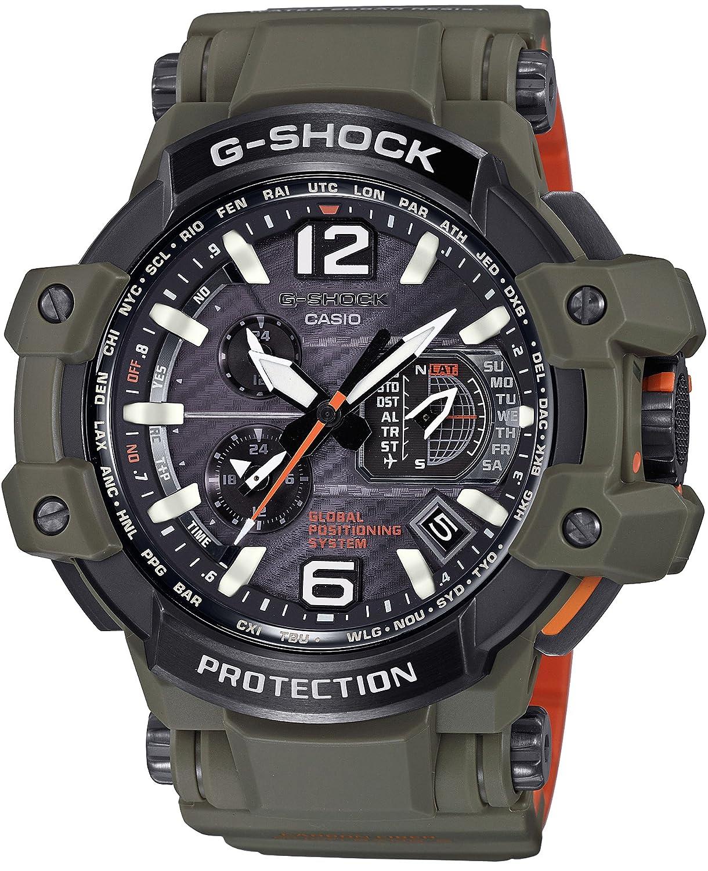 [カシオ]CASIO 腕時計 G-SHOCK Master in OLIVE DRAB グラビティマスター GPSハイブリッド電波ソーラー GPW-1000KH-3AJF メンズ B01LXM8D0J