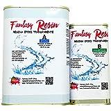 0.75-2.25 Kg Fantasy Resin, Resina epoxi bicomponente de colada (0.75 Kg)