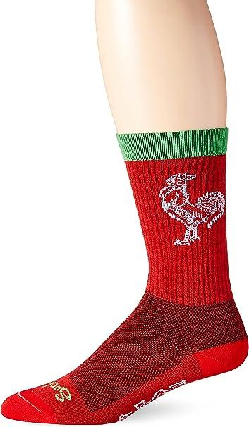 SockGuy Crew 7.5in Sriracha Cycling/Running Socks