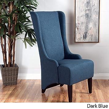 Super Amazon Com Modern Callie High Back Fabric Dining Chair Alphanode Cool Chair Designs And Ideas Alphanodeonline