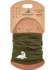 BADULO Multifunktionstuch - Halstuch mit schlichtem Design für Herren & Damen - Vielseitig einsetzbares Schlauchtuch - Motorrad Multifunktionstücher   Sturmhaube   Schlauchschal