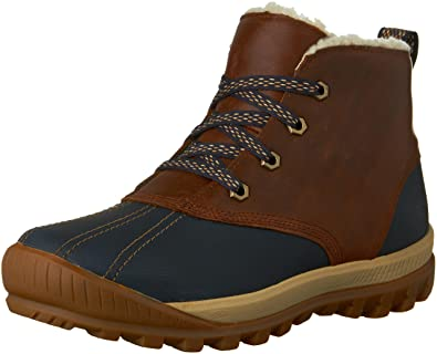 Women's Mt Hayes Waterproof Chukka Boots (9.5 B(M) US Navy/Brown)
