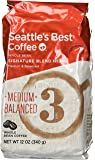Seattle's Best Level 3, Whole Bean, 12-Ounce Bags (Pack of 3)