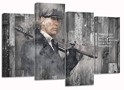 PEAKY BLINDERS tommy shelby  Framed Print