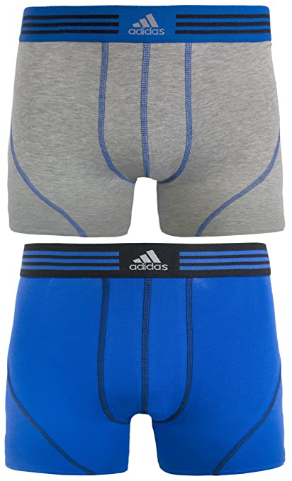 199d5b15c4fa Amazon.com   adidas Men s Athletic Stretch Cotton Trunk Underwear (2 ...
