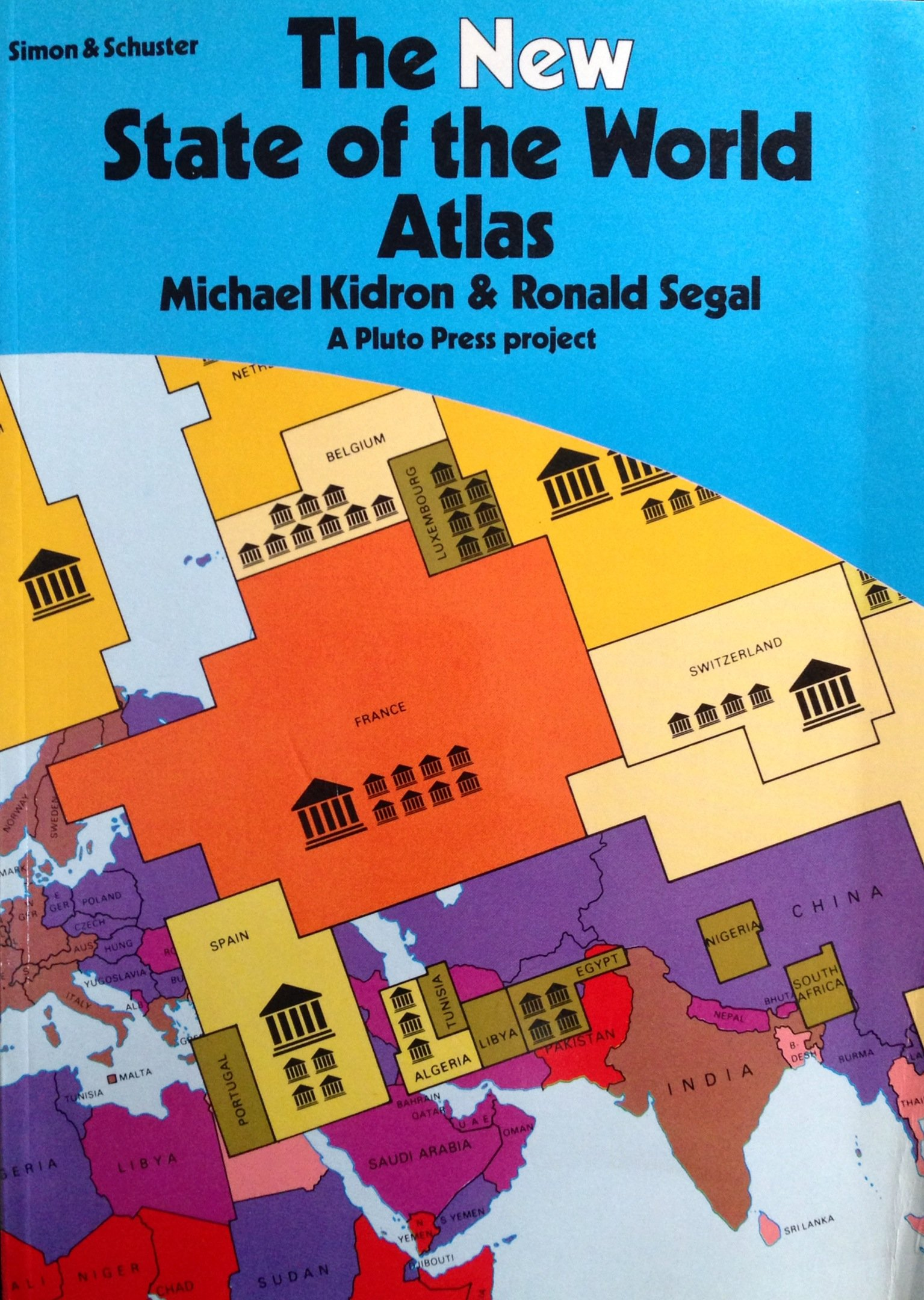 The New State Of The World Atlas Kidron Michael Segal Ronald 9780671506643 Amazon Com Books