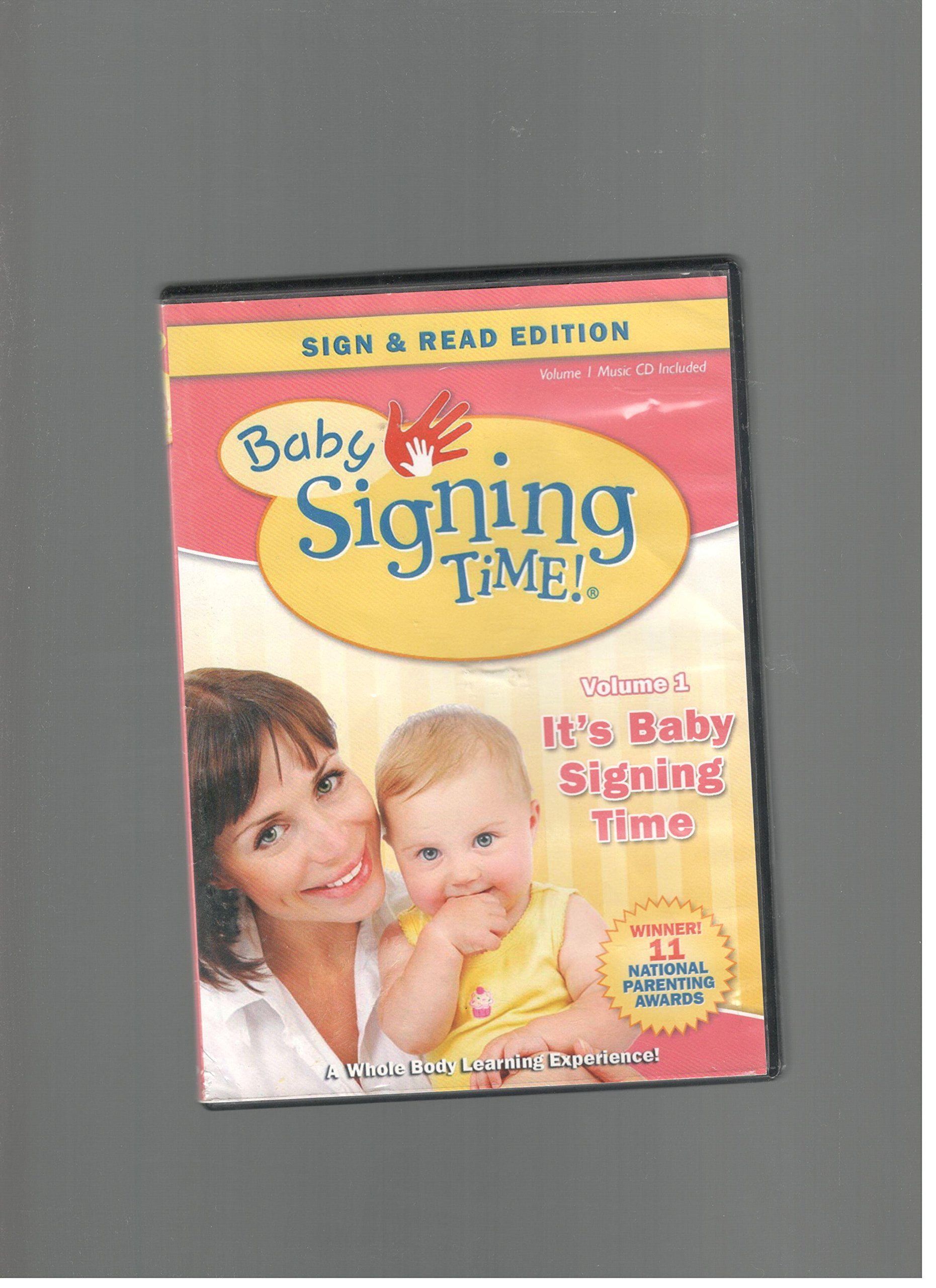 Baby Signing Time Volume 1 It S Baby Signing Time Sign Read Edition Amazon Com Books
