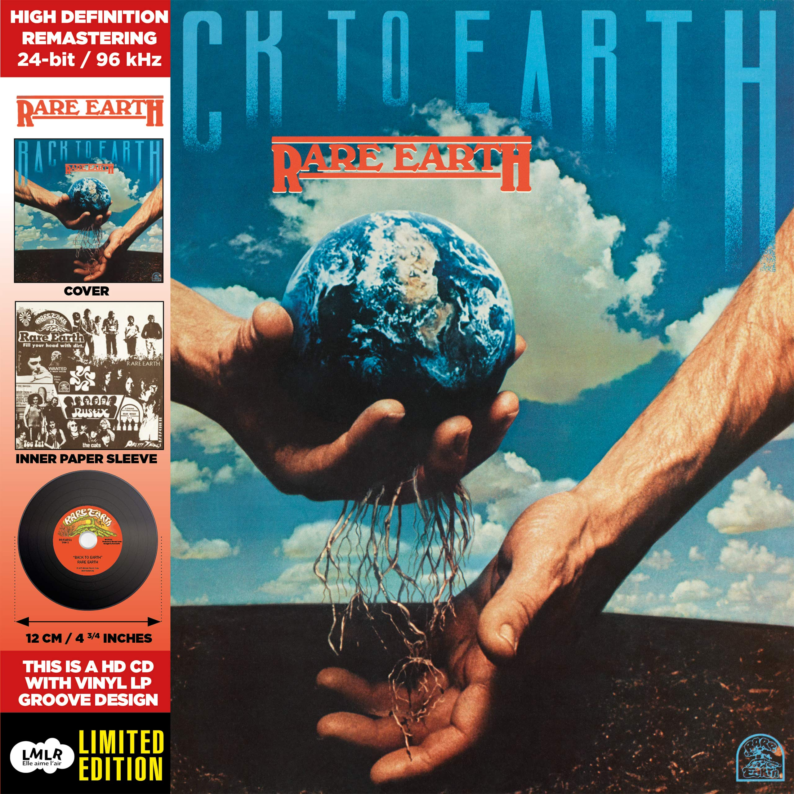 CD : Rare Earth - Back To Earth (CD)