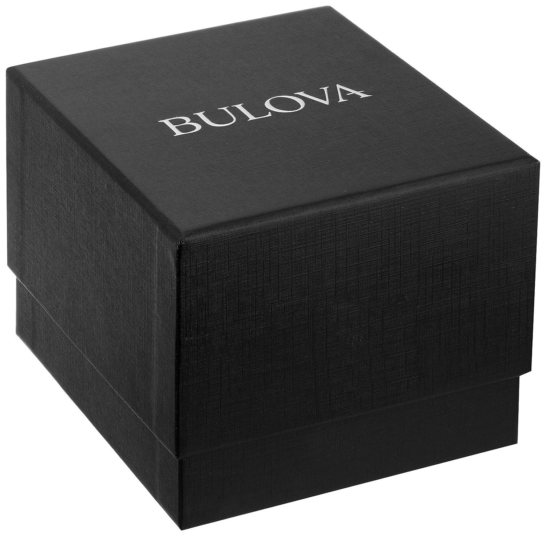 Bulova Women s Quartz Watch with Two-Tone-Stainless-Steel Strap, 14 Model 98R211