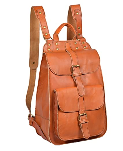 ALBORZ® Trendy Leather Backpack Bags for Women  Amazon.in  Bags ... 0cb1cc976edc5