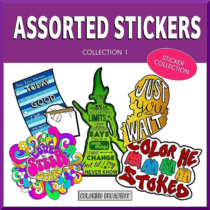 Top 10 Musical Theater Laptop Sticker