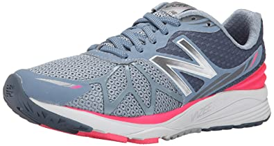 New Balance Women\u0027s Vazee Pace Running Shoe, Grey/Pink, ...