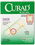Curad Sheer, Assorted Sizes, 60 count