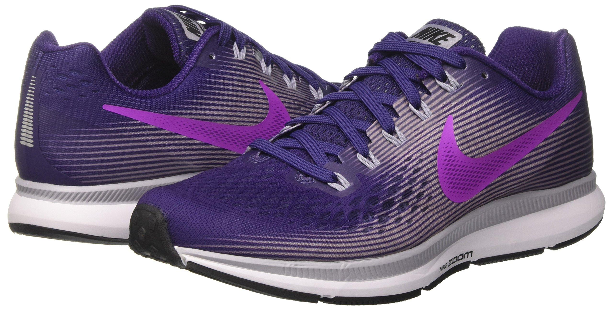 Nike Women's Air Zoom Pegasus 34 Running Shoes-Ink/Hyper Violet-6 by Nike (Image #5)