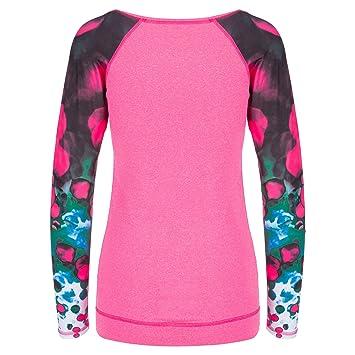 Spokey Pelotas de la Mujer Blusa, Bolas, Mujer, Color Rosa, tamaño S