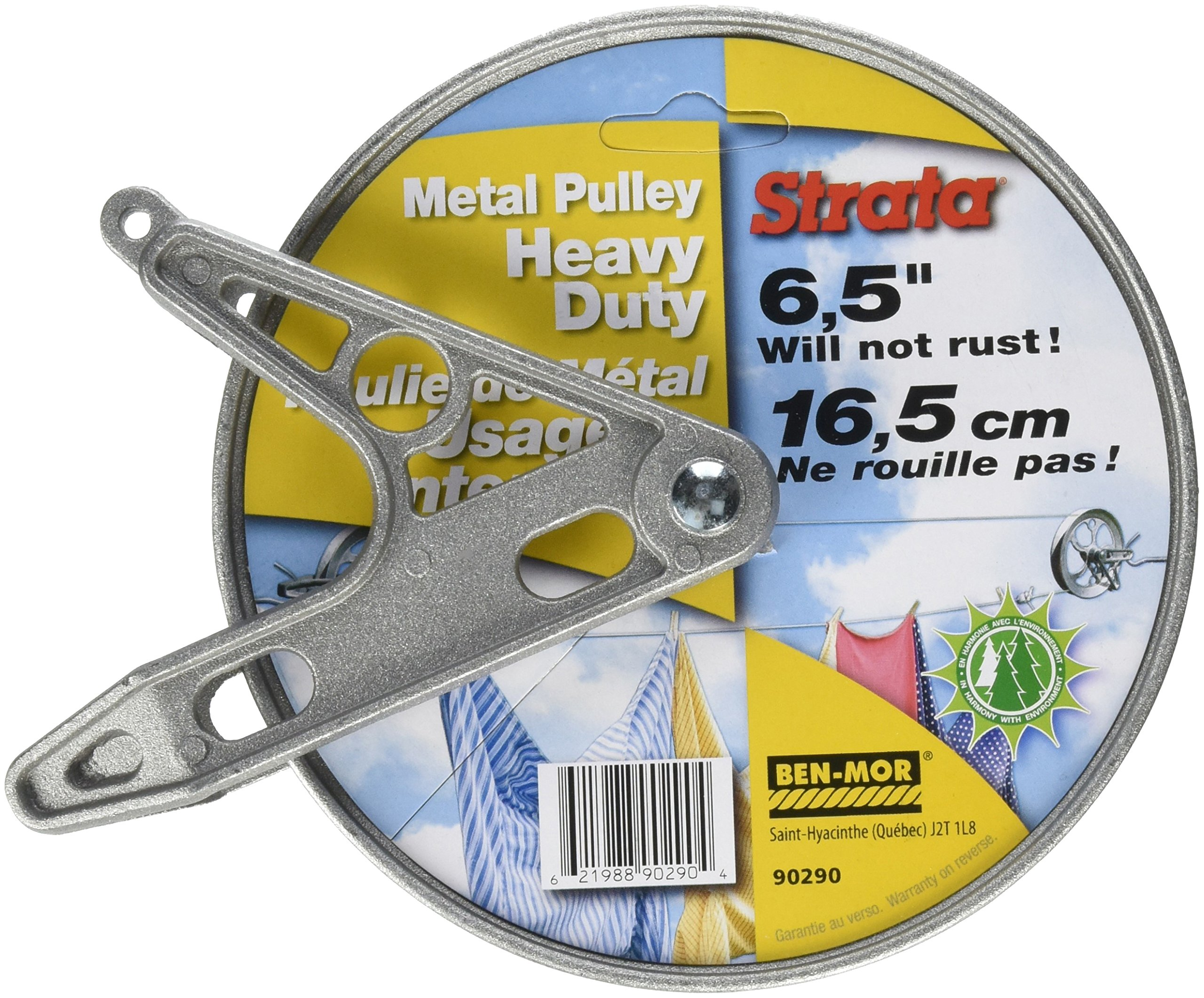 "Strata 90290 65"" Stand MTL Pulley, Silver"