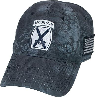 840750986 U.S. Army 10th Mountain Division Kryptek Camo Cap at Amazon Men's ...