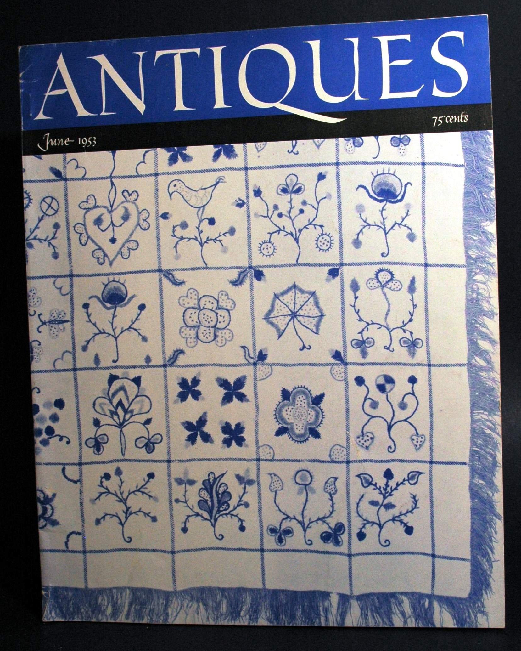 The Magazine Antiques (June 1953)