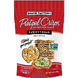 Snack Factory Pretzel Crisps, Everything, 7.2 Oz Bag
