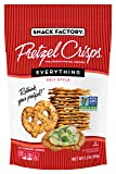 Snack Factory Pretzel Crisps Everything, 7.2 Ounce