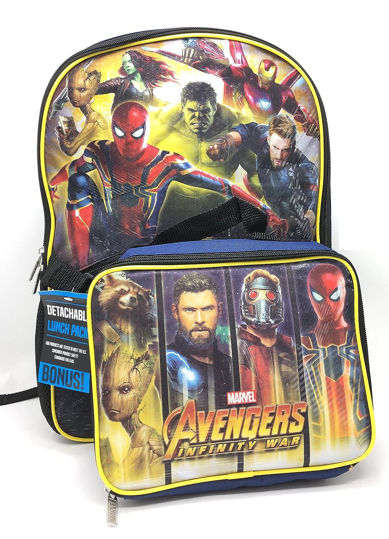 Marvel Avengers Infinity War Backpack 16