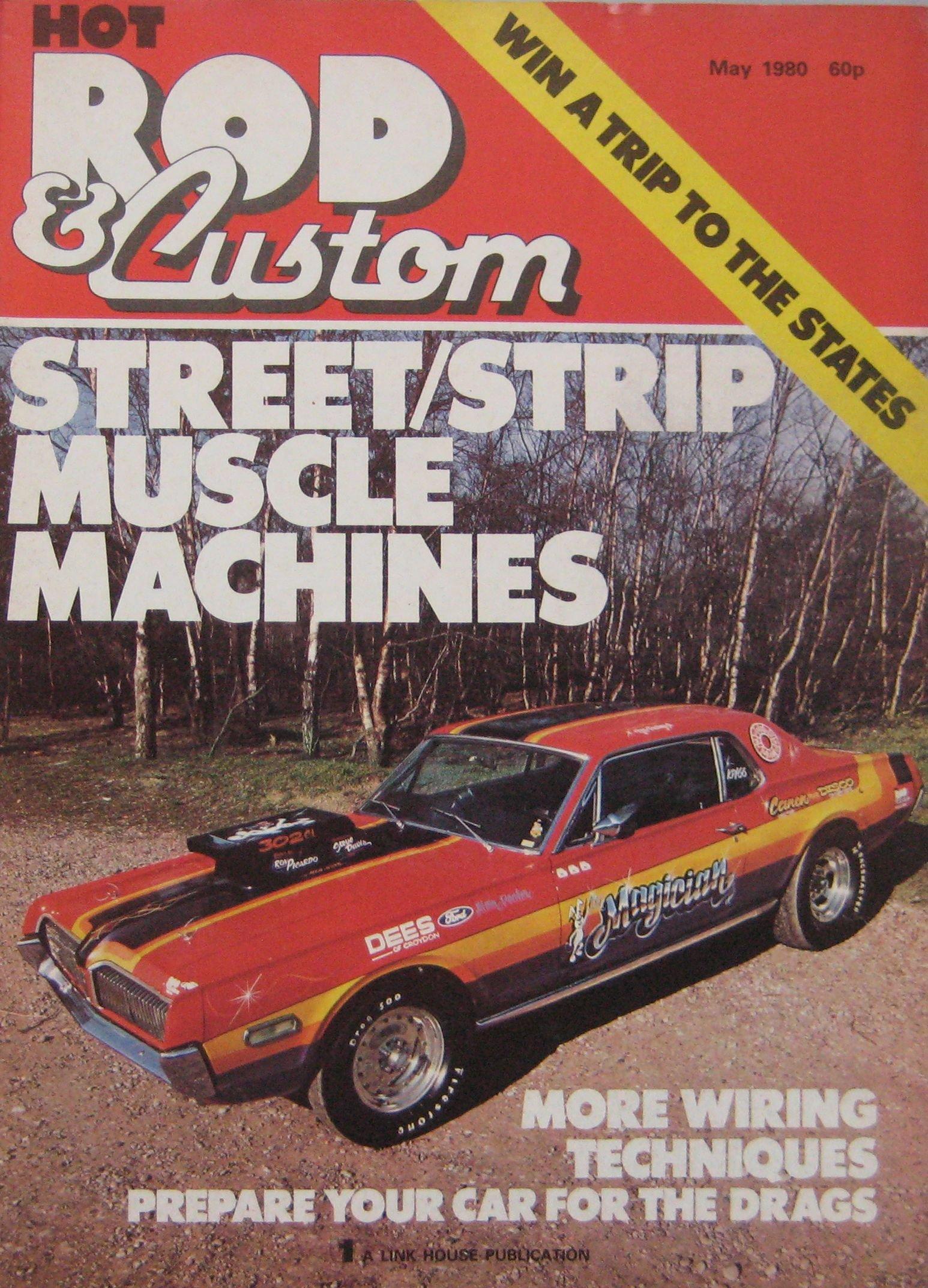 Hot Rod Custom Magazine May 1980 Ian Penberthy House Wiring Techniques 0732330906805 Books