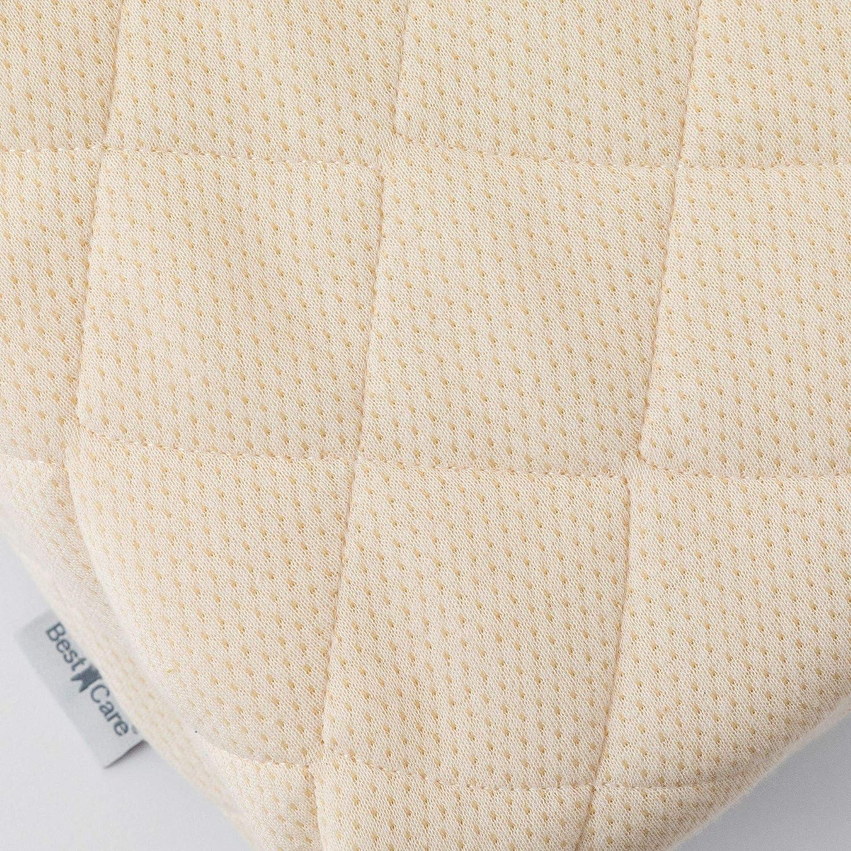 Babymatratze Kinderbettmatratze aus Pflanzenfasern EU Produkt BestCare/® kein Latex 2-seitig kein chemischer Geruch Prima Naturmatratze Gr/ö/ße:120x60cm Baby//Kleinkind