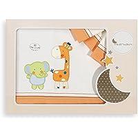 Interbaby 04043-06 - Juego de sábanas para cuna