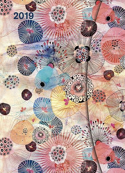 Funda Calendario Big Flower Fantasy - con cierre magnético ...