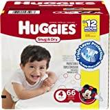 Huggies Snug and Dry Diapers - Size 4 - 66 ct