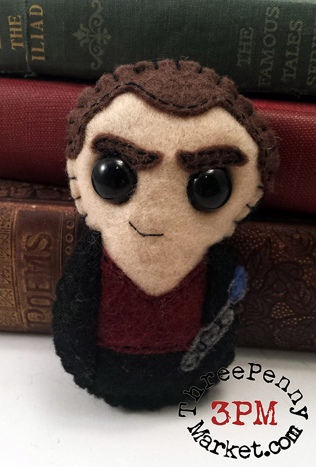 Christopher Eccleston 9th Doctor Dr Who plushie made to order