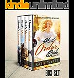 Mail Order Bride: Box Set #3: Inspirational Historical Western (Pioneer Wilderness Romance Box Set Series)