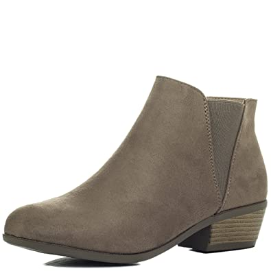 SPYLOVEBUY SPYCHASE Mid Heel Ankle Boots Shoes SZ 3-8