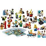 LEGO Education Community Minifigure Set 256pieza (S) Set da Costruzione–Gioco di costruzioni, multicolore, 4anno (S), 256pezzo (S)
