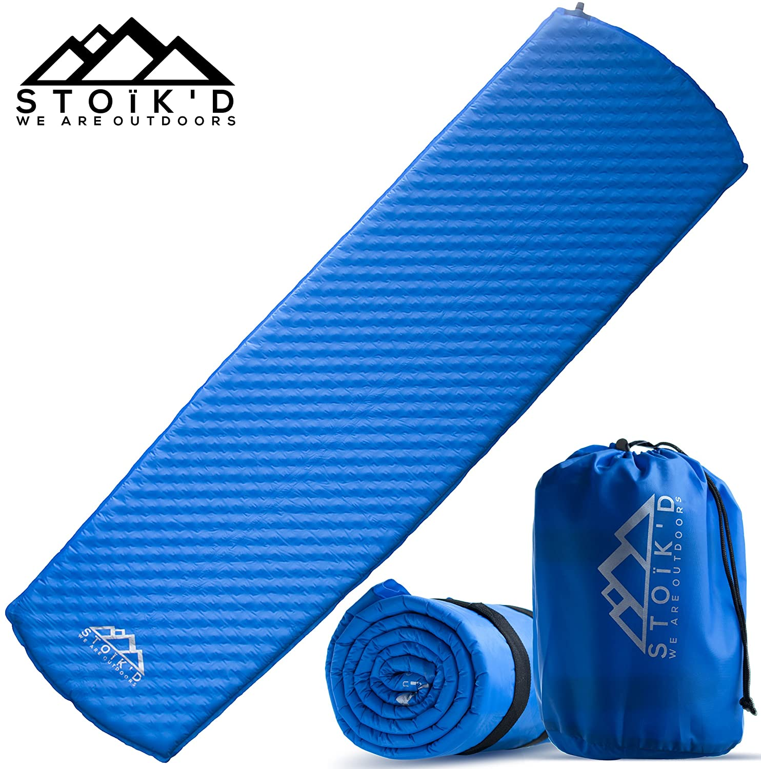 STOÏK'D Camping Premium Self Inflating Sleeping Pad