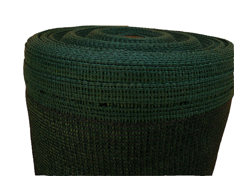 Schattiernetz Zaunblende Tennisblende Windschutznetz Sichtschutzzaun verschiedene Stärken und Längen (12m, grün 150g 2m breit) grün 150g 2m breit) Aquagart