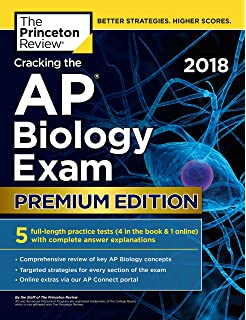 Amazon ap biology prep plus 2018 2019 2 practice tests study cracking the ap biology exam 2018 premium edition college test preparation fandeluxe Image collections